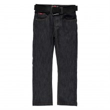 Lee Cooper C Belted Straight Jeans Juniors