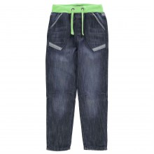 No Fear Ribbed Waist Jeans Junior