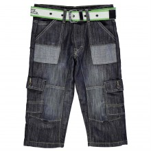 No Fear Belted Cargo Shorts Junior Boys