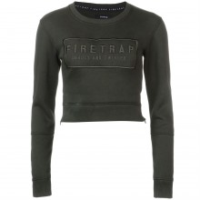 Firetrap Embroidered Crew Sweatshirt