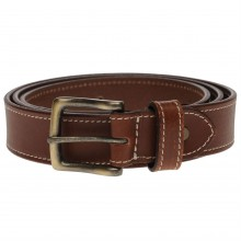 Unknow Leather Stitch Belt Mens