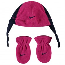 Детская шапка Nike Polar Hat Set Infant Girls