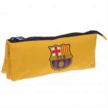 FC Barcelona Triple Pencilcase Junior Boys