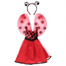 Ladybug Tutu Dress Girls