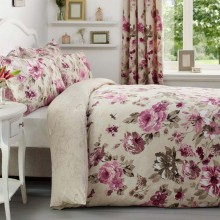 Linens and Lace Butterfly Print Duvet Cover and Pillow Cases