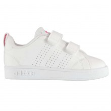 adidas Advantage Clean Infant Girls Trainers