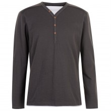 Pierre Cardin Cardin Mock Y Top Mens