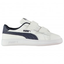 Puma Smash Suede Fun Court Trainers Infant Boys