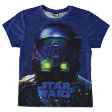 Star Wars Character T Shirt Child Boys
