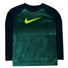 Nike Half Tone LS T Shirt Infant Boys