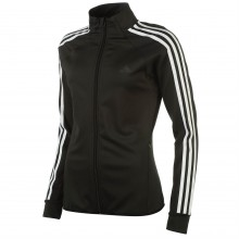 adidas Three Stripe Track Top Ladies
