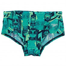 Speedo Tribal Bold Swimming Trunks Junior Boys