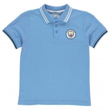 Source Lab Manchester City FC Polo Shirt Junior Boys