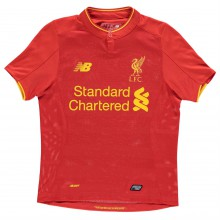 New Balance Liverpool Home Shirt 2016 2017 Junior