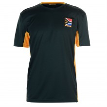 Team South Africa Poly T Shirt Mens