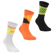 Nike Fly 3 Pack Crew Socks Child Boys