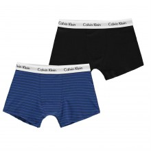 Calvin Klein 2 Pack Trunks Junior Boys