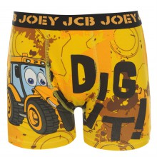 Character JCB Single Boxer Infants