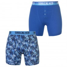 SoulCal 2 Pack of Boxers