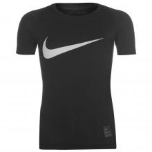 Nike Pro Core Short Sleeve T Shirt Junior Boys