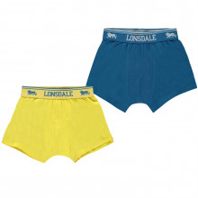 Lonsdale 2 Pack Trunk Junior Boys