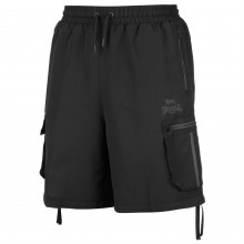 Lonsdale 2 Stripe Cargo Shorts Mens