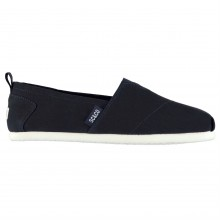 SoulCal Long Beach Junior Canvas Slip Ons