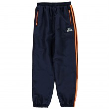 Lonsdale Two Stripe Closed Hem Woven Pants Junior Boys