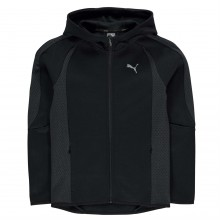 Puma EvoStripe Full Zip Hoody Junior Boys
