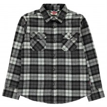 Lee Cooper C Flannel Shirt Jn81