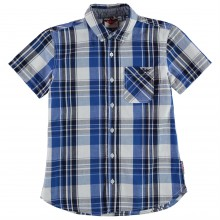 Lee Cooper Check Shirt Junior Boys