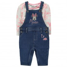 Disney Dungaree Two Piece Set Baby