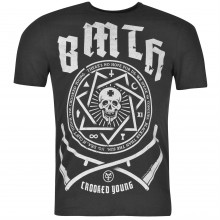 Amplified Clothing Bring Me The Horizon T Shirt Mens