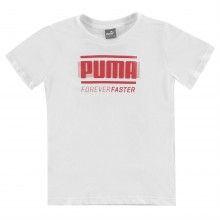 Puma Retro QTT T Shirt Junior Boys