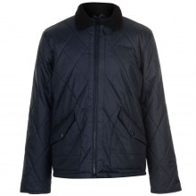 Pierre Cardin Borg Quilted Jacket Mens