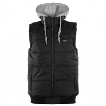 Lee Cooper Hooded Gilet Mens