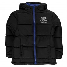 Lee Cooper Two Zip Bubble Jacket Junior Boys