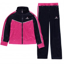 Donnay Tracksuit Junior Girls