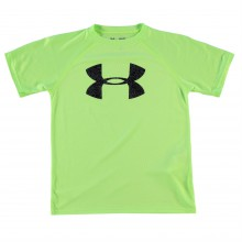 Under Armour Big Logo Solid T Shirt Junior Boys