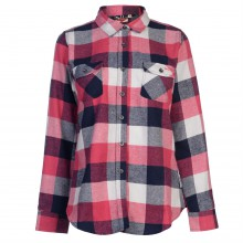 Lee Cooper Flannel Shirt Ladies