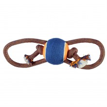 RB Figure 8 Dog Toy with Ball