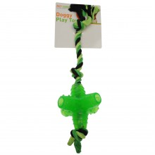 RB Dog Toy with Rubber Star