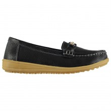 Heatons Leather Loafer Lds 83