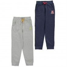 Crafted 2 Pack Jogging Bottoms Infant Boys