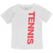 Wilson Tennis T Shirt Junior Girls