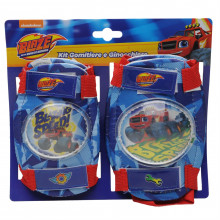 Blaze Blaze and The Monster Machines Protective Pads Childrens