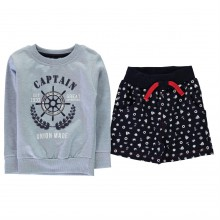 Crafted Mini 2 Piece Short Set Infant Boys