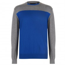 Pierre Cardin Two Tone Knitted Jumper Mens