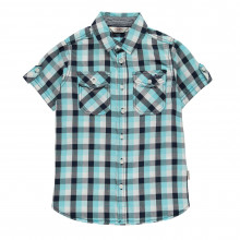 Lee Cooper C SS Check Shirt Jn00