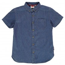 Lee Cooper C SS Denim Shirt Jn83